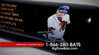 Big Time Bats Mookie Betts Limited Edition MVP Art Bat TV Spot, '2018 Most Valuable Player' - Thumbnail 5