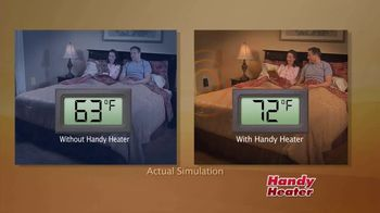 Handy Heater TV Spot, 'Cozy Places'