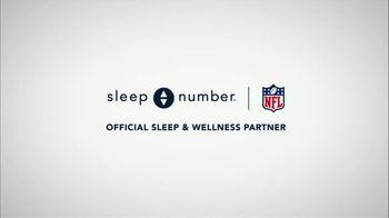 Sleep Number TV Spot, 'NFL: The Importance of Quality Sleep' - Thumbnail 1