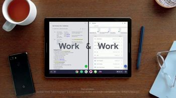 Google Pixel Slate TV Spot, 'Meet the Pixel Slate' Song by Atomic Drum Assembly - Thumbnail 2