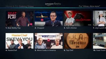 Amazon Fire TV TV Spot, 'Accent: Hell's Kitchen' - Thumbnail 2