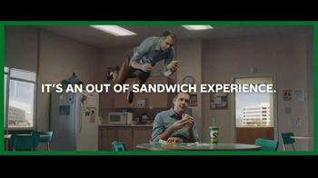 Subway Ultimate Cheesy Garlic Bread TV Spot, \'An Out-of-Sandwich Experience\'
