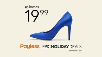 Payless Epic Holiday Deals TV Spot, 'The Payless Experiment: Paid Too Much' - Thumbnail 10