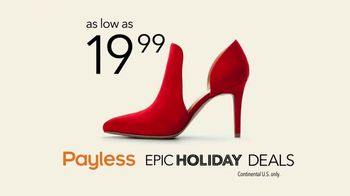 Payless Epic Holiday Deals TV Spot, 'The Payless Experiment: Paid Too Much' - Thumbnail 9