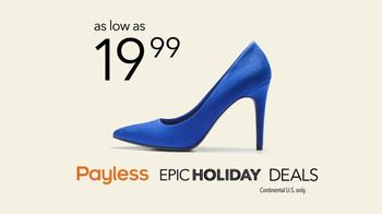 Payless Shoe Source Epic Holiday Deals TV Spot, 'The Payless Experiment' - Thumbnail 10