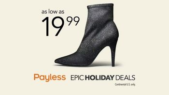 Payless Shoe Source Epic Holiday Deals TV Spot, 'The Payless Experiment' - Thumbnail 9