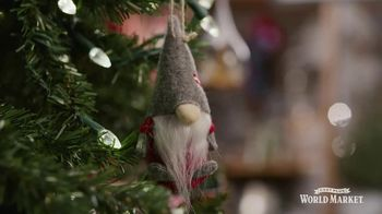 Cost Plus World Market TV Spot, 'Holiday Ornaments for Everyone' Song by Jessie J - 12 commercial airings