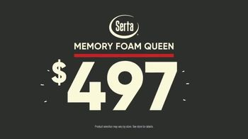 Mattress Firm TV Spot, 'Most Popular Sale: Serta Memory Foam Queen' - Thumbnail 5