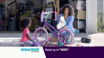 Jackson Hewitt Early Refund Advance TV Spot, 'Pay Stub' - Thumbnail 4
