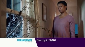 Jackson Hewitt Early Refund Advance TV Spot, 'Pay Stub' - Thumbnail 5