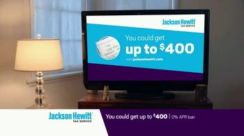 Jackson Hewitt Early Refund Advance TV Spot, 'Pay Stub' - Thumbnail 6