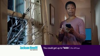 Jackson Hewitt Early Refund Advance TV Spot, 'Pay Stub' - Thumbnail 7