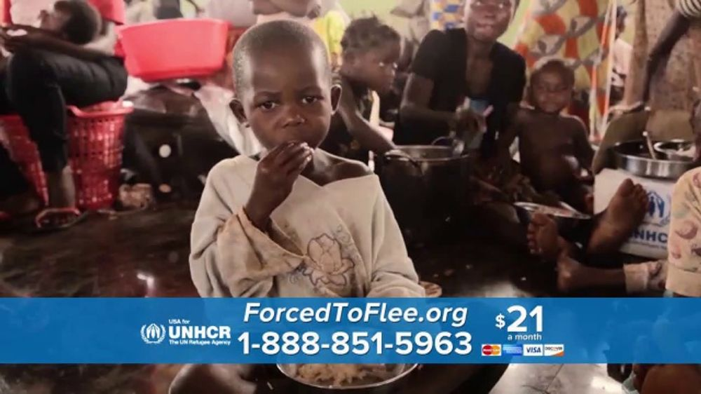 USA for UNHCR TV Commercial, 'Safe From Violence'
