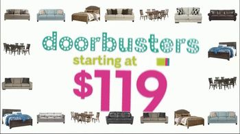 Ashley HomeStore Black Friday Sale TV Spot, 'Doorbusters: Ashley-Sleep and Gerlane' Song by Midnight Riot - Thumbnail 3