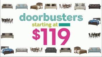 Ashley HomeStore Black Friday Sale TV Spot, 'Doorbusters: Ashley-Sleep and Gerlane' Song by Midnight Riot - Thumbnail 4