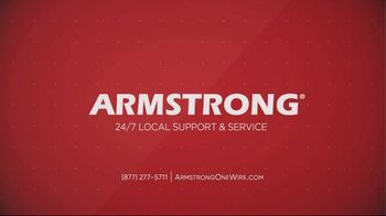 Armstrong One Wire TV Spot, 'Winter Service' - Thumbnail 10