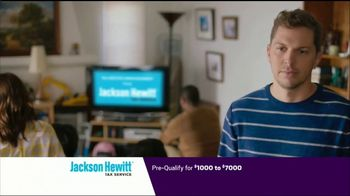 Jackson Hewitt Tax Service Go Big Refund Advance TV Spot, \'Dave Pre-Qualify 7000\'