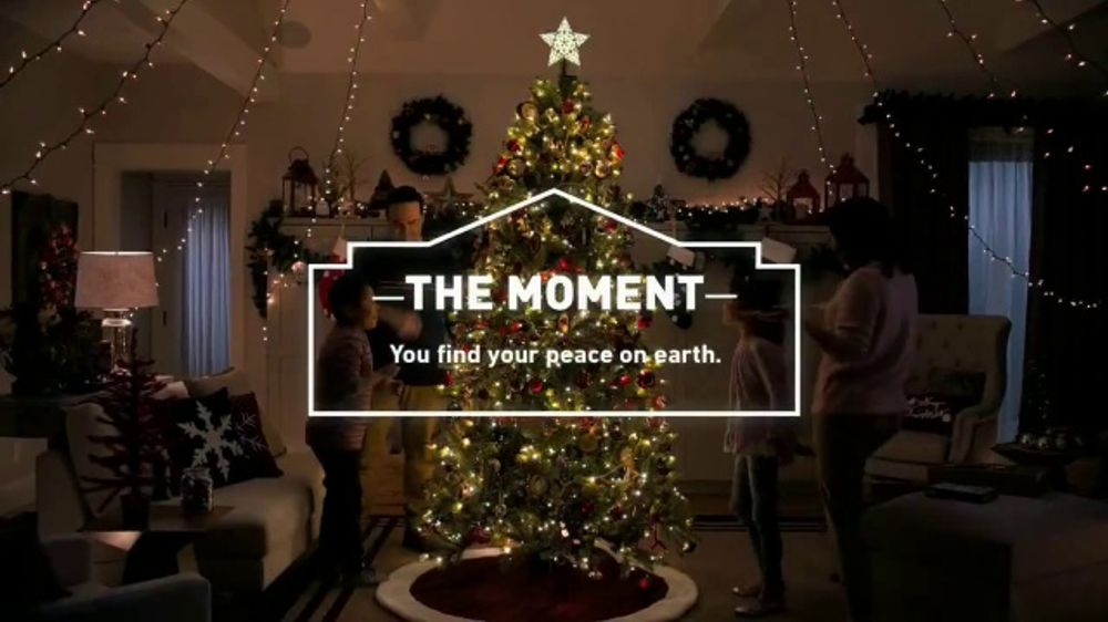 Lowe S Holiday Savings Tv Commercial Peace On Earth Christmas Lights Video