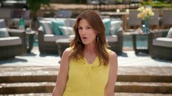 Rooms to Go Cindy Crawford Outdoor Furniture Collection TV Spot, 'Outdoor Furniture' Featuring Cindy Crawford, Song by Sheryl Crow