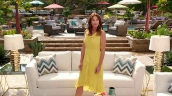 Rooms to Go Cindy Crawford Outdoor Furniture Collection TV Spot, 'Outdoor Furniture' Featuring Cindy Crawford, Song by Sheryl Crow - Thumbnail 9