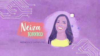 TECHNOLOchicas TV Spot, 'Neiza Torrico: ingeniera de diseño' [Spanish]