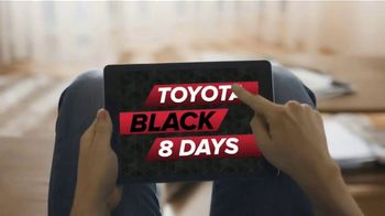 Toyota Black 8 Days TV Spot, 'Extraordinary Deals: Camry & Corolla' [T2] - Thumbnail 2
