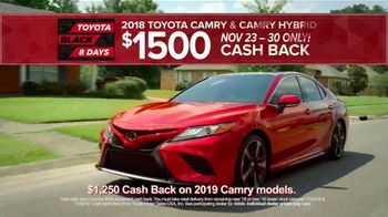 Toyota Black 8 Days TV Spot, 'Extraordinary Deals: Camry & Corolla' [T2] - Thumbnail 3