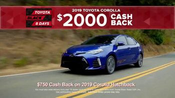 Toyota Black 8 Days TV Spot, 'Extraordinary Deals: Camry & Corolla' [T2] - Thumbnail 4