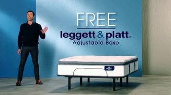 Rooms to Go Mattress Month TV Spot, 'Leggett & Platt Adjustable Base'