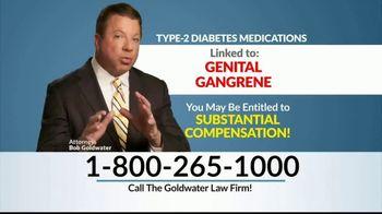 Goldwater Law Firm TV Spot, 'Genital Gangrene'