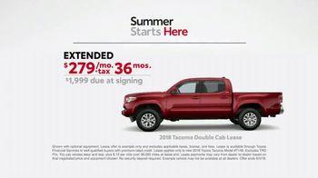 Toyota Summer Starts Here TV Spot, 'Flash Cards: 2018 Tacoma' [T2] - Thumbnail 9