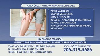 USA Vein Clinics TV Spot, 'No demore su visita' [Spanish]