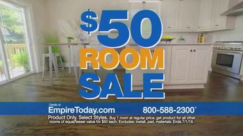Empire Today $50 Room Sale TV Spot, 'No Limit' - Thumbnail 2