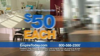 Empire Today $50 Room Sale TV Spot, 'No Limit' - Thumbnail 4