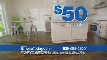 Empire Today $50 Room Sale TV Spot, 'No Limit' - Thumbnail 5