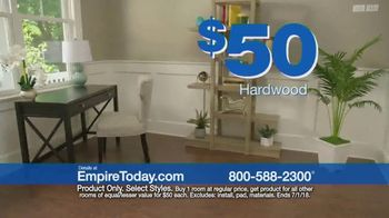 Empire Today $50 Room Sale TV Spot, 'No Limit' - Thumbnail 6