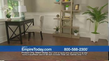 Empire Today $50 Room Sale TV Spot, 'No Limit' - Thumbnail 7
