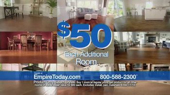 Empire Today $50 Room Sale TV Spot, 'No Limit' - Thumbnail 8