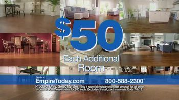 Empire Today $50 Room Sale TV Spot, 'No Limit' - Thumbnail 9