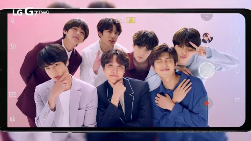 LG G7 ThinQ TV Commercial, 'LG x BTS: Super Wide Angle Camera' Featuring J-Hope