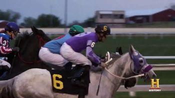 Ram Trucks TV Spot, 'History Channel: Stories of Horsepower: Jockey' [T1] - Thumbnail 3