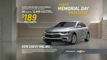 Chevrolet Memorial Day Sales Event TV Spot, 'All the Features' [T2] - Thumbnail 7