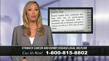Stomach Cancer & Kidney Disease Helpline TV Spot, 'Proton-Pump Inhibitors'