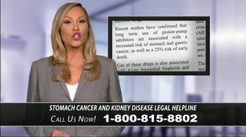 Stomach Cancer & Kidney Disease Helpline TV Spot, 'Proton-Pump Inhibitors' - Thumbnail 2