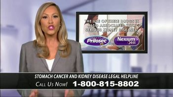 Stomach Cancer & Kidney Disease Helpline TV Spot, 'Proton-Pump Inhibitors' - Thumbnail 3