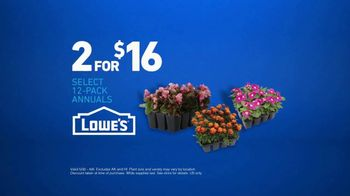 Lowe's TV Spot, 'Gardening Gene: 12-Pack Annuals' - Thumbnail 9