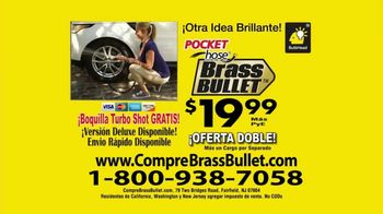 Pocket Hose Brass Bullet TV Spot, 'Fuerte' con Richard Karn [Spanish] - Thumbnail 9