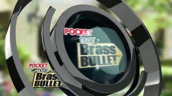 Pocket Hose Brass Bullet TV Spot, 'Fuerte' con Richard Karn [Spanish] - Thumbnail 1