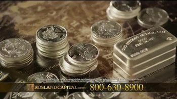 Rosland Capital TV Spot, 'Library Silver' Featuring William Devane