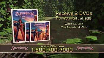 CBN Superbook DVD Club TV Spot, 'Joshua and Caleb' - Thumbnail 4